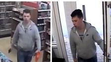 Police have released CCTV images of people they would like to trace.