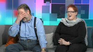 Mark and Dana Fisher, married since 2000, still argue over pudding.