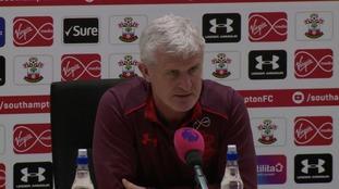 "Hughes calls for ""professional"" Saints performance"