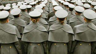 Cadets from the United States Military Academy