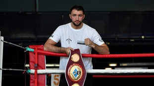 Hughie Fury is desperate to get his hands on the belt.