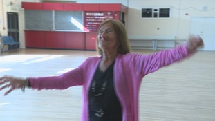 Dinkie Flowers won't hang up her dancing shoes at 97