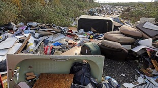 England's fly-tipped rubbish 'could stretch from London to Moscow'