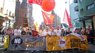 The TUC says workers are facing a historic period of wage stagnation.