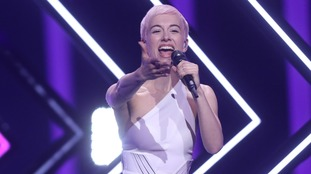 UK's SuRie promises a 'beautiful' show at the Eurovision finals in Portugal
