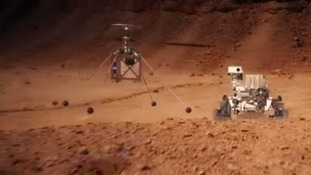NASA to send tiny helicopter to fly around Mars skies