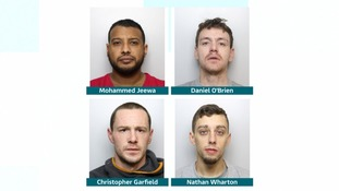 Criminal gang jailed for running Class A drugs hotline
