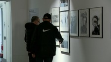 Pictures are on display at Ebrington.