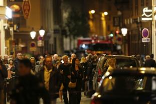 One person was killed in a knife attack in central Paris.