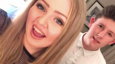 Chloe Rutherford and Liam Curry were killed in the terrorist attack last May