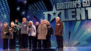 The Zimmers during auditions for the ITV programme Britain's Got Talent