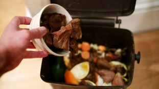 The council is encouraging people to recycle their food waste