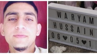 Waryam Hussain: Police return to scene of fatal stabbing in Luton