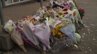 A vigil was held for Mr Hussain on Tuesday evening