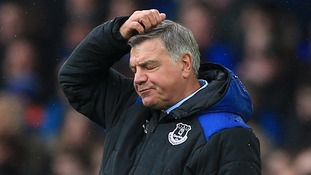 Everton boss Sam Allardyce's future remains clear after his side limped to defeat away to Moyes' West Ham