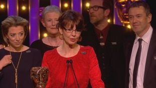 The Girls, the drama about the Rochdale child sex abuse scandal, has won the Bafta for best mini-series.