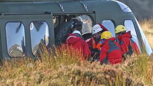 Emergency services are looking for the crashed aircraft.