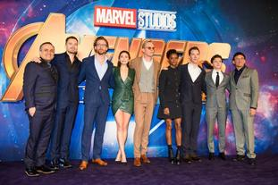 The cast of Avengers: Infinity War.