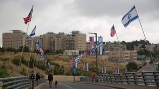 The opening of the US Embassy in contested Jerusalem is fiercely opposed by Palestinians.