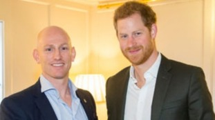 Dean Stott and Prince Harry