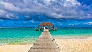 Now destinations such as the Maldives are sought after for their luxurious locations.
