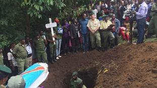 Funeral of Rachel Masika Baraka
