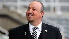 Manager Rafa Benitez