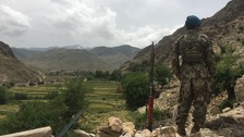 The remote Achin district of Nangarhar province, where the Afghan army is fighting Islamic State.