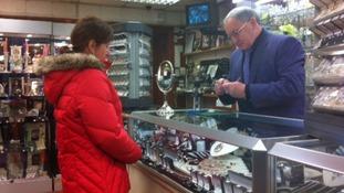 Jeweller Derek Davies