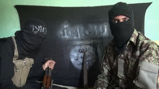 Numbers of IS militants in this area have increased.
