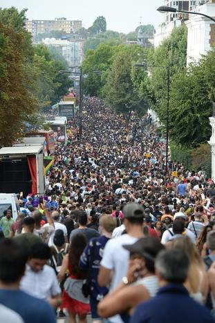 The softwarre is routinely used at the Notting Hill Carnival.