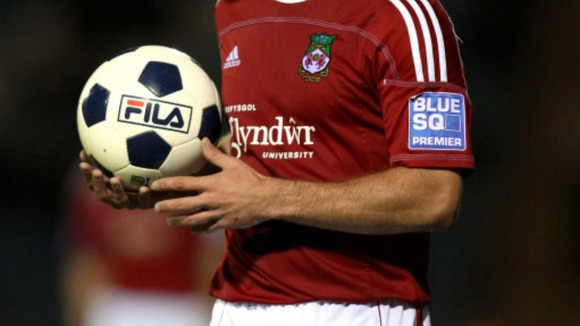 A Wrexham player