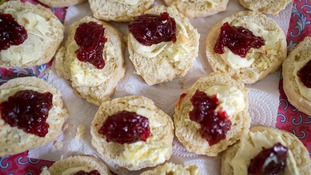 Whether the cream or the jam comes first on a scone is an age old debate.