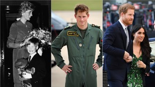 Prince Harry's life as a soldier, philanthropist and royal