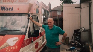 Mac Leask served ice creams in Pype Hayes in Birmingham for 46 years.