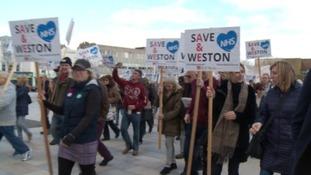 Weston hospital demo
