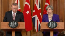Theresa May and Recep Tayyip Erdoğan have both condemned the killings.