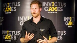 Prince Harry founded the Invictus games in 2014.