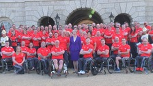 The Team UK 2018 Invictus Games squad.