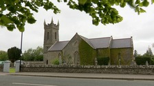 The church was damaged in the floods and in need of repair.