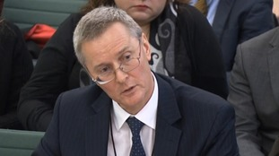 Richard Adam, Carillion's finance director, is one of three senior staff members in the firing line.