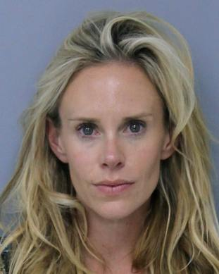 Krista Glover was arrested on Saturday night.