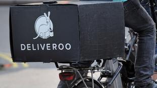 Deliveroo hands staff £10m in shares, but drivers receive nothing