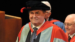 Lord Prescott at today's ceremony