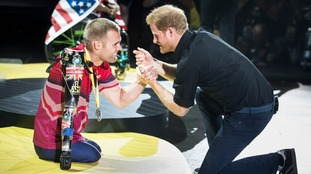 Invictus hopeful invited to Royal Wedding
