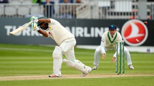 Ireland's cricketers played their historic inaugural Test against Pakistan