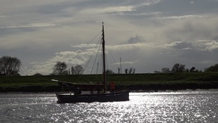 The Baden Powell is afloat again after a 10-year restoration project.