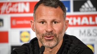 Giggs calls on youngsters to grasp opportunity in Mexico friendly