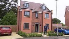 Homeowner Justin Revell