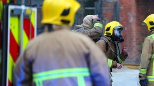Nearly 50 firefighters tackling Finvoy gorse blaze